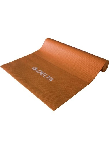 Delta Deluxe Pvc Pilates Egzersiz Minderi Yoga Mat Kamp Matı Oranj